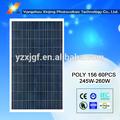 Alta eficiencia policristalino 230 w panel solar