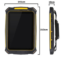 Cheapest rugged tablet pc price china with CE 3g phone ,NFC ,GPS