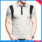 Designer T Shirt Polo Men OEM Supplier Guangzhou 2014