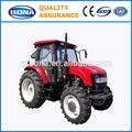 100hp 4wd piccoli trattori uso agricolo con cabina