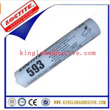 2015 Advanced Weather-proof Glass Silicone Sealant loctite 593