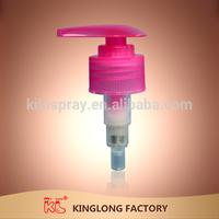 2014 KL Switch lock 28/410 plastic hand wash lotion bottle pump dispenser
