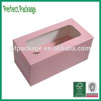 Fashional Hand Mande 300gsm Art Paper Cake Box Wholesale