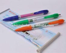 Cheap promotional retractable banner pen