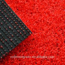 Chinese popular red PE gateball/golf artificial turf