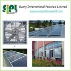 250 watt Solar Panel Green House DC Solar Industrial Ventilation Fan