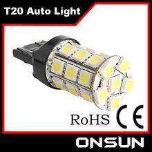Super bright cree auto led light T20 car led lights t20 w21/5w 7443