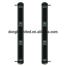 Solar wireless infared beam anti-intrusion alarm system