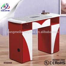 Nail technician manicure table/manicure table nail salon furniture/wholesale nail tables KM-HN6868