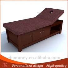 tavolo spa bellezza letti giada legno rulli per tabella massager