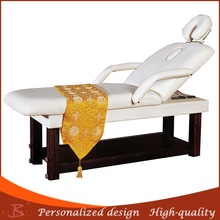 wooden cosmetic bed facial table support functional wood bed massage table fleece