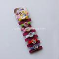 Yiwu yapımı diy şeker renk kızlar ile saç tokaları şeritler