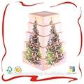 delicado de navidad caja de regalo decorativo para el almacenamiento