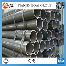 50mm unit weight mild steel round pipes properties
