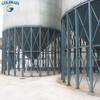 Silo system corrugated hopper bottom rice silos in china