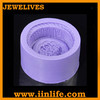 Hot selling durable silicone soap and candle molds