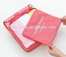 3Pcs set bag in bag,5pcs set bag organizer Travel Luggage Storage Bag Clothes Organizer Case Suitcase Handbag Pouch