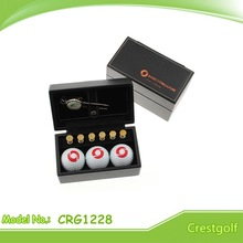 Delicate Golf ball Set leather box golf set high end golf ball set