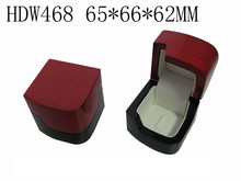 2014 Fantastic Red Wooden Box for Wedding Ring