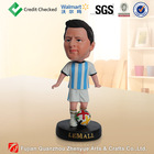 2014 newest messi resin bobble head
