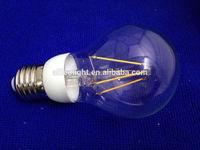 CE RoHS COB 6W E27 LED filament bulb ,led candle bulb