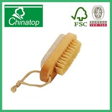mini Wooden Nail Brush and Pumice