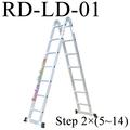 rd de aluminio plegable de cuerda de escalada camas literas de metal escalera