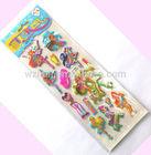 puffy sticker,spongy foam sticker
