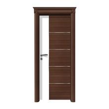 High quality Interior solid wooden door design for hotel doors interior
