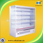 Adjustable shelves multi-deck open cooler for supermarket