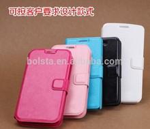 flip wallet leather case for motorola moto g