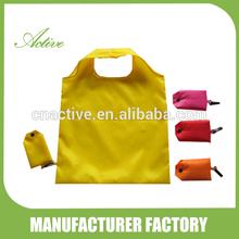 190T polyester folding bag