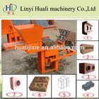 QMR1-40/QMR2-40 clay brick making machine manual interlocking brick making machine