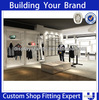 Retail garment shop interior design for clothes rack shop fittings