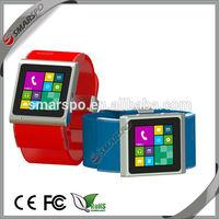 2014 shenzhen smart watch with Wifi-GPS-Bluetooth