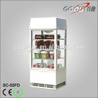 Countertop Four Glass Refrigerating Showcase