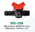 """20mm diâmetro 1/2"""" mini plástico válvula ms-20b"""
