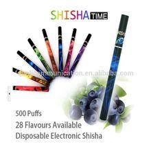 hot new products for 2015 large capacity 280 mah disposable 500 puff e shisha hookah