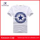 custom fashion blank print t-shirt/plain white t-shirts wholesale/100% cotton t-shirts manufacturers