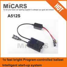 Hot sale 55W 1s fast bright Program control HID xenon ballast