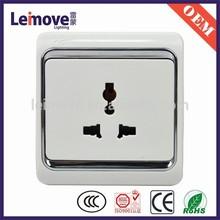 plastic plate 15a wall switch socket