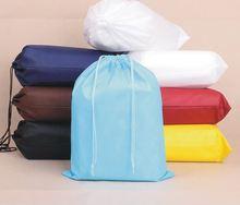 2014 hot sales custom printed factory direct sale cheap custom printed drawstring shoe bags