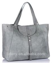 Grey large fashion bags ladies handbags 2014 from Haoyuan