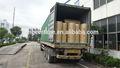 Nuestra 2014 egipto viejo cliente adhesivo bopp rollos jumbo 36 mic- dos contenedores 40gp