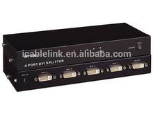 1080P Full HD video 4 in 1 out dvi switch boxes splitter distributor,dvi to av adapter For samsung smart tv apple acer dell pc