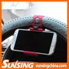 Steer wheel car phone holder