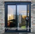 novo estilo elegante deslizante de alumínio porta de entrada