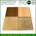el precio de fábrica de laminado decorativo panel de madera friso pvc