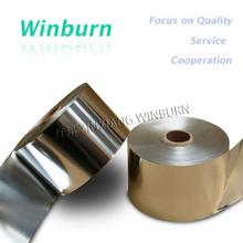Alumínio 290 mm 9mic Jumbo rolo de papel alumínio