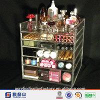 Hot Sale!!! Factory Custom Acrylic Makeup Desk Organizer